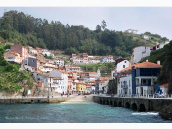 La costa central Asturiana