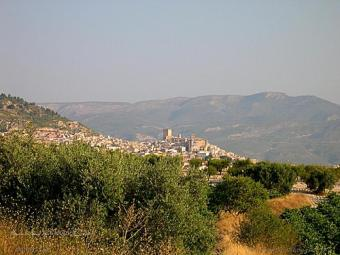 Sierras de Los Álamos, Gavilán, Muela y Cerezo